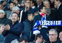 Leicester City owner Vichai Srivaddhanaprabha during the UEFA Champions League QF 2nd Leg match between Leicester City and Atletico Madrid at the King Power Stadium, Leicester, England on 18 April 2017. Photo by Andy Rowland.
