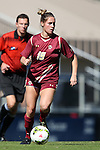 26 October 2014: Boston College's Rosie DiMartino. The Duke University Blue Devils hosted the Boston College University Eagles at Koskinen Stadium in Durham, North Carolina in a 2014 NCAA Division I Women's Soccer match. Duke won the game 2-1 in overtime.
