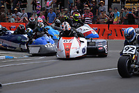 F1-F2 Sidechairs. The 2018 Suzuki series Cemetery Circuit motorcycle racing at Cooks Gardens in Wanganui, New Zealand on Wednesday, 28 December 2018. Photo: Dave Lintott / lintottphoto.co.nz