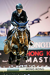 Jane Richard Philips of Switzerland riding Pablo de Virton in action during the Hong Kong Jockey Club Trophy competition as part of the Longines Hong Kong Masters on 13 February 2015, at the Asia World Expo, outskirts Hong Kong, China. Photo by Li Man Yuen / Power Sport Images