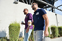 San Jose, CA - Wednesday August 29, 2018: Guram Kashia, Vako prior to a Major League Soccer (MLS) match between the San Jose Earthquakes and FC Dallas at Avaya Stadium.