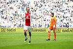 Nederland, AMsterdam, 1 April 2012.Eredivisie.Seizoen 2011-2012.Ajax-Heracles 6-0.Siem de Jong van Ajax juicht na het scoren van de 4-0
