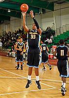 April 10, 2011 - Hampton, VA. USA;  Carlton Allen participates in the 2011 Elite Youth Basketball League at the Boo Williams Sports Complex. Photo/Andrew Shurtleff