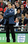 England manager Fabio Capello watches the first half during the Friendly International match at Wembley Stadium, London. Picture date 28th May 2008. Picture credit should read: Simon Bellis/Sportimage