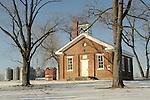 Laverden School Chapel, Northumberland County, PA. 1861