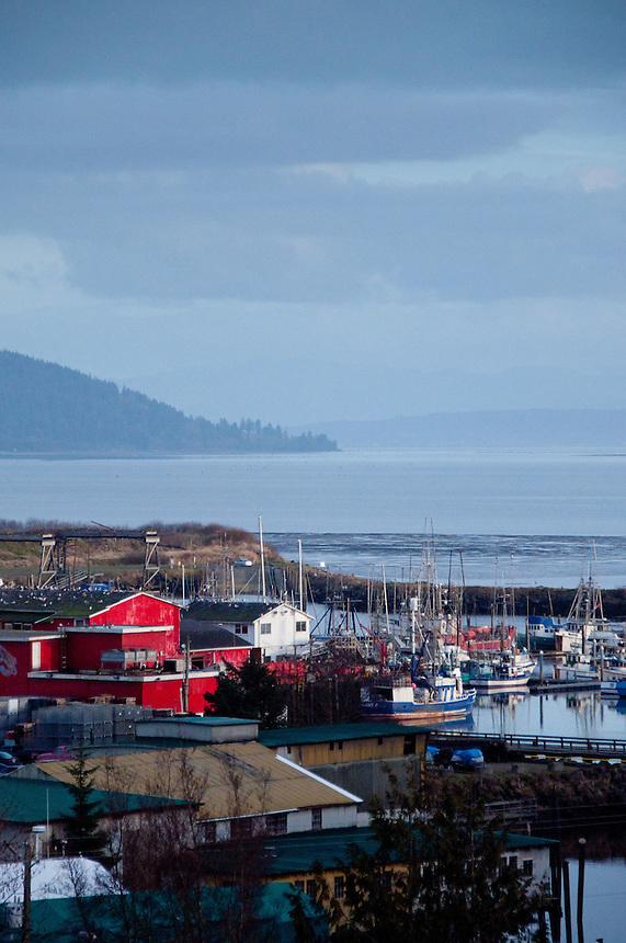 Ilwaco Harbor, Ilwaco, Washington, US