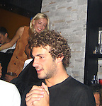 **EXCLUSIVE**.Even after months of been broken up Paris Hilton can't get over Stavros Niachors, because as soon as she arrived at Mokai Night Club, she went ballistic on Stavros and demanded that Brooke, who is having an affair with him, be removed from his table, telling her bodyguard to kick her out from the table. As soon as Brooke left, Paris started to make out with Stavros and to dance at the exactly place where Brooke was sitting..At the end Paris and Stavros made up and confess to each other how they can't live separately and that all the other affairs they had was just to spite each other...Mokai Nightclub.Miami Beach, FL, USA.Thursday, December 06, 2007 .Photo By Celebrityvibe.com.To license this image please call (212) 410 5354; or.Email: celebrityvibe@gmail.com ;.website: www.celebrityvibe.com