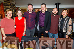 Born to Run ready for some fun in the Brogue Inn on Saturday evening for their Christmas Party.<br /> L to r: Kathleen Curtin, Aine Brosnan, Tom Dillon, Liam Horan, David Hughes and Kerry O'Connor.