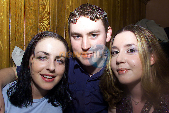 Catriona McKelvey, Tipperary Andrew Murphy, Fair street house and Gillian Stone, Tipperary pictured enjoying a night in McPhails..Picture: Arthur Carron/Newsfile