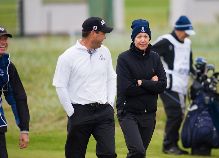 ALFRED DUNHILL LINKS CHAMPIONSHIP, ST.ANDREWS..CARNOUSTIE.. LEIGH ORD.7-10-2010 PIC BY IAN MCILGORM