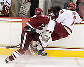 Justin Braun (UMass - 27), Carl Sneep (BC - 7) - The Boston College Eagles defeated the University of Massachusetts-Amherst Minutemen 5-2 on Saturday, March 13, 2010, at Conte Forum in Chestnut Hill, Massachusetts, to sweep their Hockey East Quarterfinals matchup.