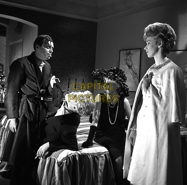 Dirk Bogarde, James Fox, Wendy Craig <br /> in The Servant (1963) <br /> *Filmstill - Editorial Use Only*<br /> CAP/NFS<br /> Image supplied by Capital Pictures
