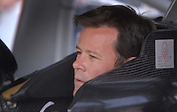 Apr 19, 2007; Avondale, AZ, USA; Nascar Nextel Cup Series driver Robby Gordon (7) during qualifying for the Subway Fresh Fit 500 at Phoenix International Raceway. Mandatory Credit: Mark J. Rebilas