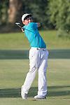 Hung Chien-yao of Taiwan plays an approach shot during the 58th UBS Hong Kong Golf Open as part of the European Tour on 10 December 2016, at the Hong Kong Golf Club, Fanling, Hong Kong, China. Photo by Vivek Prakash / Power Sport Images