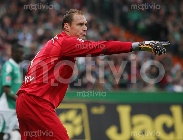 20.10.07 Fussball Bundesliga Saison 2007/08 SV Werder Bremen - Hertha BSC Berlin Torhueter Jaroslav DROBNY (Hertha).