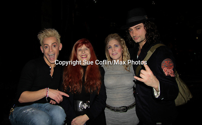 Ilene Zatkin-Butler won a walk on role on Broadway's Rock of Ages starring Bold and The Beautiful Constantine Maroulis and Big Brother's Frankie J. Grande (brother of Ariana Grande) at the Helen Hayes Theatre, NYC, NY on December 17, 2014 while attending The Jane Elissa Extravaganza 2014 - 19 years - benefiting the Jane Elissa/Charlotte Meyer Endowment Fund which raises revenue that directly supports the research  of the Leukemia/Lymphoma Society. The grant goes to an individual researcher. (Photo by Sue Coflin/Max Photos)
