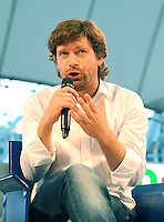 Giuseppe Civati <br /> Genova 07-09-2013 Festa Nazionale Partito Democratico <br /> Democratic Party National Meeting <br /> Photo  Genova Foto /Insidefoto