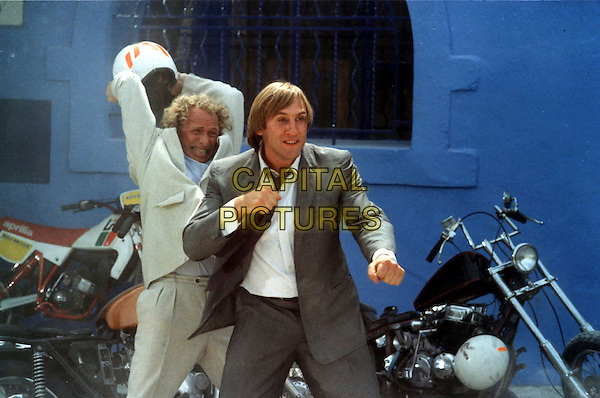 PIERRE RICHARD & GERARD DEPARDIEU.in Les Comperes.*Editorial Use Only*.Ref: FB.www.capitalpictures.com.sales@capitalpictures.com.Supplied by Capital Pictures.