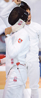 01 JUN 2008 - BUDAPEST, HUN - Jean Maxence Berrou (FRA)  - Modern Pentathlon World Championships. (PHOTO (C) NIGEL FARROW)