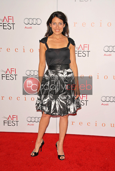 Lisa Edelstein<br /> at the AFI Fest Premiere of 'Precious,' Chinese Theater, Hollywood, CA. 11-01-09<br /> David Edwards/DailyCeleb.Com 818-249-4998