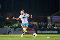 Alex Pike of West Ham United U21s during the The Checkatrade Trophy match between Wycombe Wanderers and West Ham United U21 at Adams Park, High Wycombe, England on 4 October 2016. Photo by Andy Rowland.