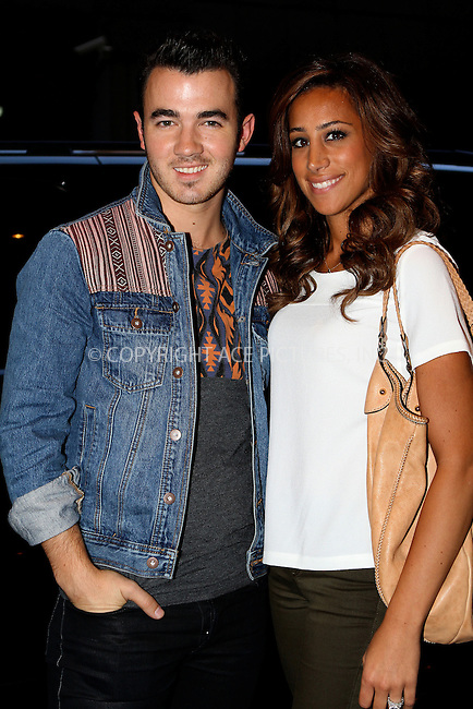 WWW.ACEPIXS.COM....September 11 2012, New York City....Musician Kevin Jonas and his wife Danielle Deleasa out in Manhattan on September 11 2012 in New York City........By Line: Nancy Rivera/ACE Pictures......ACE Pictures, Inc...tel: 646 769 0430..Email: info@acepixs.com..www.acepixs.com