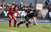 Blair Tarrant. International Hockey, Blacksticks Men v Japan, TET Multisport Centre, Stratford, New Zealand. Saturday 12 October 2019. Photo: Simon Watts/www.bwmedia.co.nz/HockeyNZ