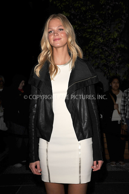 WWW.ACEPIXS.COM . . . . . .April 19, 2012...New York City....Erin Heatherton arriving to the Cinema Society & Men's Health screening of 'The Lucky One' at the Crosby Street Hotel on April 19, 2012  in New York City ....Please byline: KRISTIN CALLAHAN - ACEPIXS.COM.. . . . . . ..Ace Pictures, Inc: ..tel: (212) 243 8787 or (646) 769 0430..e-mail: info@acepixs.com..web: http://www.acepixs.com .