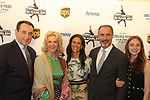 "Mike ""Coach K"" Krzyzewski, Elaine Wynn, Ellen & Doug Lowey and daughter at Figure Skating in Harlem's Champions in Life (in its 21st year) Benefit Gala recognizing the medal-winning 2018 US Olympic Figure Skating Team on May 1, 2018 at Pier Sixty at Chelsea Piers, New York City, New York. (Photo by Sue Coflin/Max Photo)"