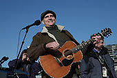 Musician James Taylor performs during rehearsal at the U.S. Capitol building as Washington prepares for U.S. President Barack Obama's second inauguration on January 20, 2013 in Washington, DC. Both Obama and U.S. Vice President Joe Biden will be officially sworn in today with a public ceremony for the President taking place on January 21.    .Credit: Win McNamee / Pool via CNP