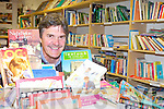 BY THE BOOK: Paul Hanrahan of the Action Lesotho book shop in Tralee which is appealing for more donations of non-fiction books.