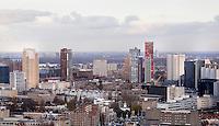 Rotterdam- Uitzicht vanaf de Euromast.