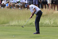 Matt Kuchar (USA) takes his putt on the 6th green during Friday's Round 2 of the 117th U.S. Open Championship 2017 held at Erin Hills, Erin, Wisconsin, USA. 16th June 2017.<br /> Picture: Eoin Clarke | Golffile<br /> <br /> <br /> All photos usage must carry mandatory copyright credit (&copy; Golffile | Eoin Clarke)