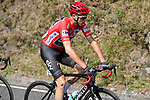 Race leader Chris Froome (GBR) Team Sky during Stage 19 of the 2017 La Vuelta, running 149.7km from Caso. Parque Natural de Redes to Gij&oacute;n, Spain. 8th September 2017.<br /> Picture: Unipublic/&copy;photogomezsport | Cyclefile<br /> <br /> <br /> All photos usage must carry mandatory copyright credit (&copy; Cyclefile | Unipublic/&copy;photogomezsport)