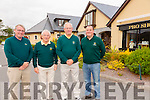 Dooks Golf Links was the location for the All Ireland Mixed Foursomes competition last week pictured here on semi-day were l-r; Maurice O'Meara(General Manager),  Declan Mangan(President Dooks GL), William Murphy(Captain Dooks GL) & Michael Shanahan(Head Green Keeper).