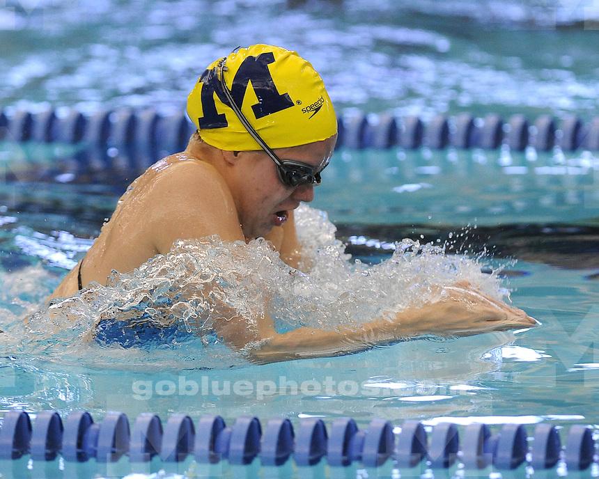 Michigan men's and women's swimming and diving Swim Carnival 2013 at Canham Natatorium, Saturday, September 28, 2013.