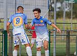 2018-07-29 / Voetbal / seizoen 2018 -2019 / GR Katelijne - KFC Duffel/ Nagim Amini (r.KFC Duffel) zorgt voor de 0-1 ,Foto: Mpics.be