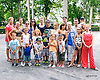 Lots of Roccos - some of the Rocco Family at Delaware Park on 8/8/15