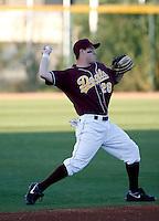 Jason Kipnis - 2009 Arizona State Sun Devils.Photo by:  Bill Mitchell/Four Seam Images