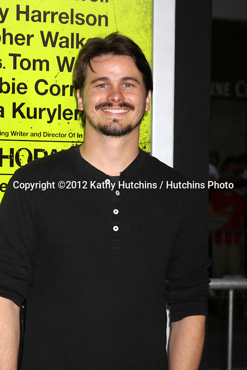 """LOS ANGELES - OCT 30:  Jason Ritter  at the """"Seven Psychopaths"""" Premiere at Bruin Theater on October 30, 2012 in Westwood, CA"""