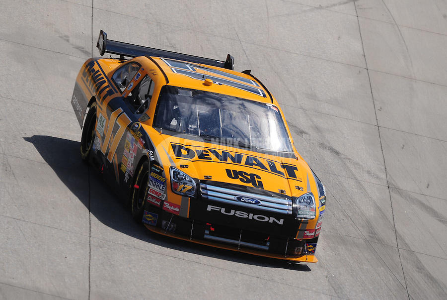 Sept. 21, 2008; Dover, DE, USA; Nascar Sprint Cup Series driver Matt Kenseth during the Camping World RV 400 at Dover International Speedway. Mandatory Credit: Mark J. Rebilas-