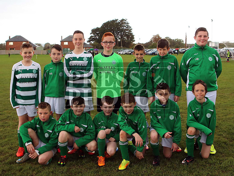 Termonfeckin FC U13 ahead of their match against Drogheda Town Falcons at Termonfeckin FC <br /> <br /> <br /> Photo - Jenny Matthews