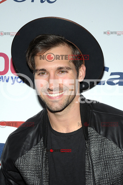 NEW YORK, NY - DECEMBER 8: James Maslow at Z100's Jingle Ball 2017 at Madison Square Garden in New York City, Credit: John Palmer/MediaPunch /nortephoto.com NORTEPHOTOMEXICO