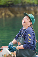 Oyster Suzie, Eaglek Bay, Prince William Sound, Pristine Products, Alaska grown oysters.