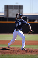 Bryan Rodriguez - San Diego Padres 2016 spring training (Bill Mitchell)