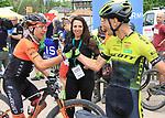 2019 Trentino MTB Challenge - Ride the Nature - 1000 Grobbe Bike Challenge - 100 Km dei Forti  il 09/06/2019 a Lavarone,  Tony Longo (Wilier 7C Force) Donatella Simoni (PR), Juri Ragnoli (Scott Racing Team)<br />  © Pierre Teyssot / Mosna