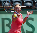 at Roland Garros in Paris, France on May 30, 2012