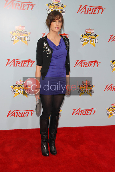 """Chelsea Hobbs<br /> at Variety's 3rd Annual """"Power of Youth,"""" Paramount Studios, Hollywood, CA. 12-05-09<br /> David Edwards/DailyCeleb.com 818-249-4998"""