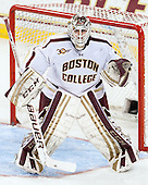 Brian Billett (BC - 1) - The Boston College Eagles defeated the visiting University of New Hampshire Wildcats 6-2 on Friday, December 6, 2013, at Kelley Rink in Conte Forum in Chestnut Hill, Massachusetts.