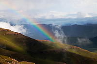 Rainbow in the mountain kingdom of Lesotho